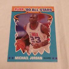 Michael Jordan 1990-91 FLEER ALL STAR INSERT BULLS vintage card mint SP HOF SSP