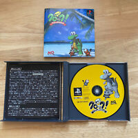 Croc Pau Pau Island - Playstation 1 PS1 - Japan JPN - Complete
