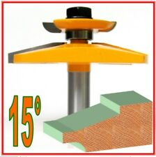 "1pc  1/2""SH 15° Raised Panel w/Back Cutter Router Bit S"