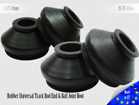 4X High Quality Rubber ATV A-Arm Ball Joint and Tie Rod End Dust Boots Cover