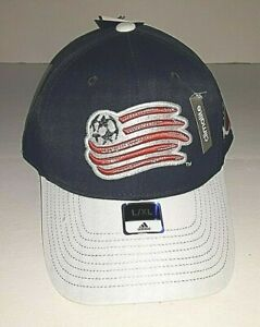 New England Revolution MLS Stretch Fit Hat  Lg/XL