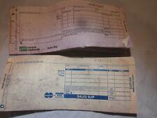 Visa Mastercard and Novus Servies Manual Paper Credit Card Sales Slips Unused