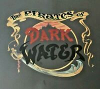 """Pirates of Dark Water Title Cels and Key Master Production Background HUGE!! 30"""""""