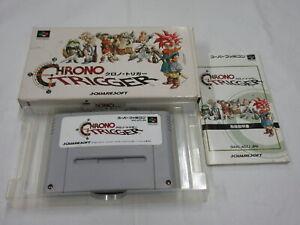 F40 Nintendo Super Famicom Chrono Trigger Japan SFC SNES w/box bx