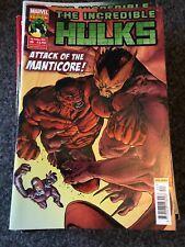 Marvel Comics The Incredible Hulks Comic Book 9th October 2013 Manticore Attack