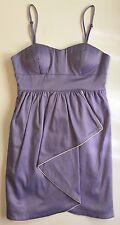 Walter Baker Front Drape/Tulip Purple Dress Size XS NEW