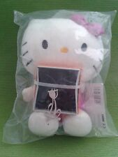 Peluche Hello Kitty + Ciondolo Gadget Originale Idea Regalo da Collezione Raro