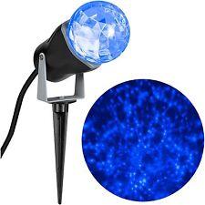 Halloween Christmas Lightshow Projection Kaleidoscope Outdoor Light Blue