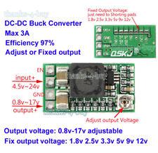 DC-DC Buck Converter Adjustable Mini Step Down Module 1.5V 3V 3.3V 5V 9V 12V 3A