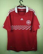 23484f0b2 Denmark team jersey shirt 2010-2011 Home official adidas soccer football  size XL