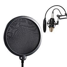 Filtro ParaVientos doble capa Microfono Estudio Grabacion Anti Pop Máscara 4605