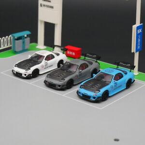 Master 1:64 Mazda RX-7 Diecast Car Model Metal Toy Car