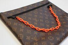 Louis Vuitton x Virgil Abloh A4 Pouch Monogram Pochette M44484 Bag * AUTHENTIC *