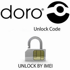 Unlock code for Doro Phone Easy  409-410-610 -345 Network Lock Pin Fast Service