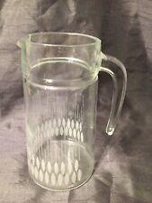 Retro Vintage Glass Jug Pattern Base