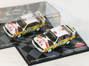 1/43 Audi Sport Quattro  Rally Monte Carlo 1985  W.Rohrl / C.Geistdorfer