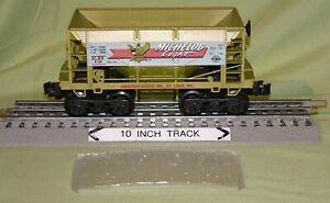 "K-Line 6736 Michelob Light Beer Ore Car w/ Remv ""ICE"" Load wks w/ Lionel 1995"