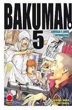 manga BAKUMAN N. 5 autori death note nuovo panini