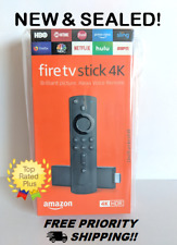 Fire TV Stick 4K (Latest 2018 Version) Brand New, Free Shipping!