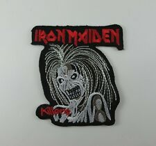 IRON MAIDEN EMBROIDERED MUSIC SONGS HEAVY METAL SEW IRON ON PATCH T-SHIRT CAP AA