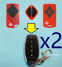 2x B&D Tritran Garage Door Remote BND TB2 TB5 BD4 7024162733 CAD615