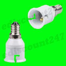 SES E14 A B22 Adattatore Convertitore luce a LED Custodia VENDITORE UK
