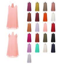 FashionOutfit Women's Wide Open V-Neck Spaghetti Strap Racer-Back Mini Dress
