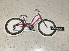 ELECTRA BICYCLE STICKER, CYCLE CYCLING, CARS 4WD MOTORCYCLE RIDES
