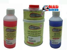 Tank Cure Fuel Tank Restoration Kit, Cleaner, Rust Remover & Epoxy Sealant 600g