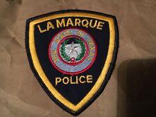 LA MARQUE TEXAS POLICE patch NB