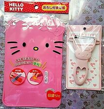 Hello Kitty Cutting Board Peeler Japan Limited Rare Set Fast Free Shipping Japan