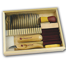 Flexcut Starter Carving Set with FREE Relief Carving DVD
