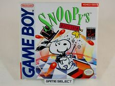 SNOOPY'S MAGIC SHOW NINTENDO GAME BOY GB COLOR GBC ADVANCE GBA ORIGINAL COMPLETO