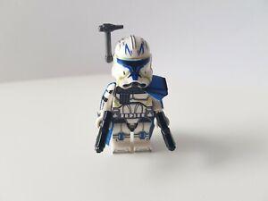 Star Wars Clone Captain Rex Phase 2 MOC Lego kompatible Minifigur NEU
