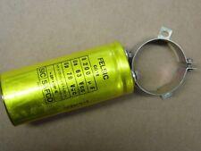 condensateur 8200µF 8.2mF 63v Sic-Safco Felsic CO18 85°C Ø 50mm H 118mm +collier