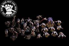 Warhammer 40K Tyranids Army, 28 plastic minis 1 metal minis PRO PAINT magnetized