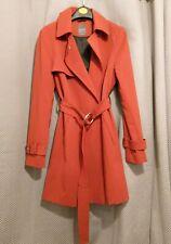 Atmosphere Burnt Orange Trench Coat Size 8
