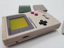 Nintendo Game Boy Classic in Grau (DMG-01) 2 Spiele / Gebraucht