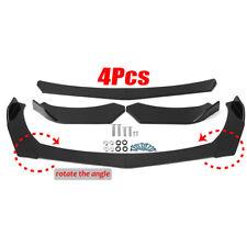 Front Bumper Lip Spoiler Wing Black Body Kit For Subaru WRX STI Impreza Legacy