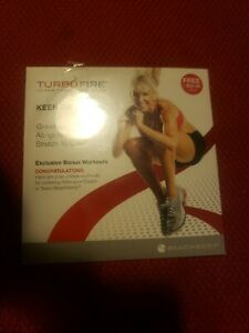 NEW! TURBO FIRE ~ Chalene Johnson ~ KEEP ON BURNIN' ~ Bonus DVD