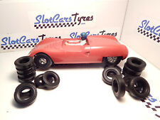 8 front + 8 rear urethane tires REVELL 1/24 - AUS