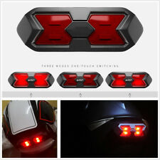 1x Universal Motorcycle ATV Helmet Night Light Strip Signal Warning Lamp Sticker
