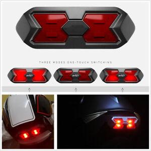 1x Universal Motorcycle ATV Helmet Night Light Strip Signal Warning Lamp Sticker