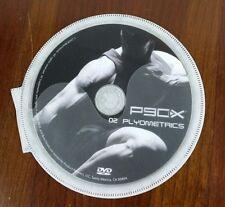P90X Extreme Home Fitness Tony Horton Dvd Replacement Disc #2 Plyometrics