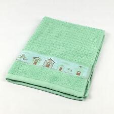 Riggs Beach Huts Kitchen Tea Towel MINT 50 X 65cm 100 Cotton Very Absorbent a