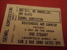 Rod Stewart Concert Ticket -  A Day on the Green McLaren Vale