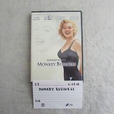 Marilyn Monroe The Diamond Collection- Howard Hawks Monkey Business DVD 0628