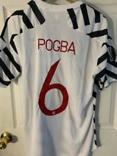 adidas #6 POGBA EUROPA LEAGUE Manchester United 2020/21 Authentic THIRD Jersey