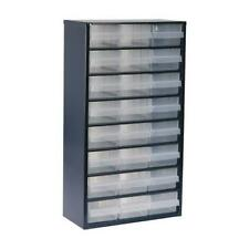 1 x Raaco 24 Drawer Cabinet, Enamelled Steel, 24 Drawer Storage