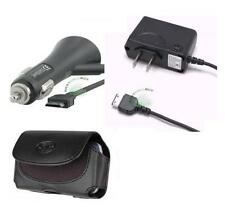 Car+Wall AC Home Charger Adapter+Case Pouch for Verizon Samsung Convoy SCH-U640